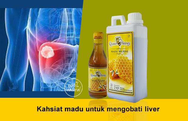 Kahsiat madu untuk mengobati liver