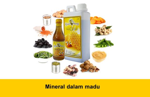 Mineral dalam madu