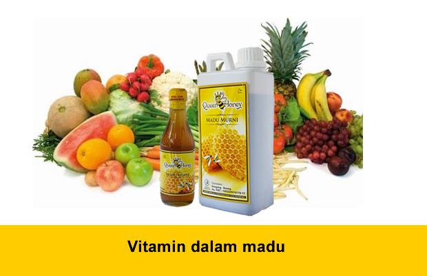 Vitamin dalam madu